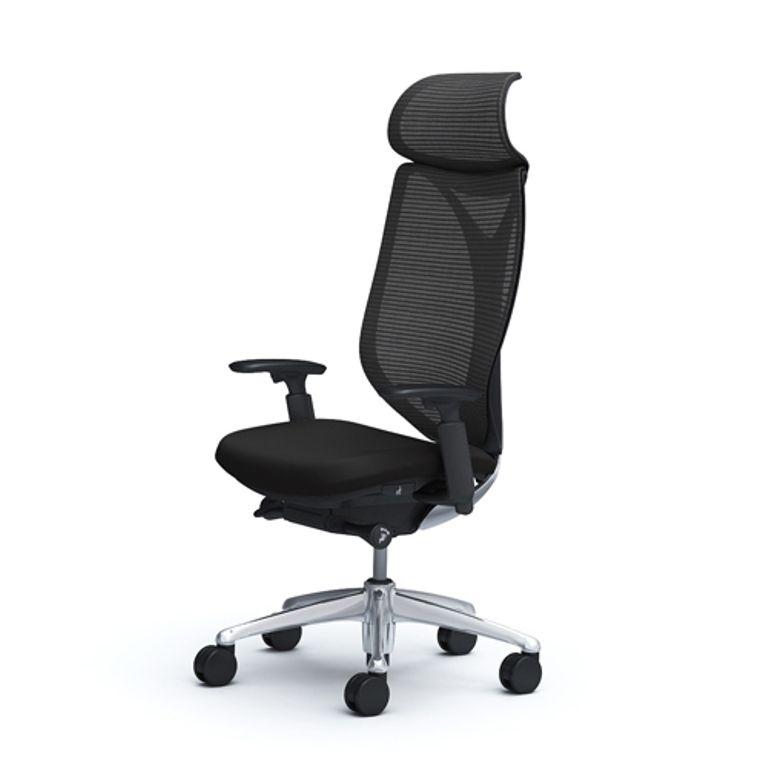 OKAMURA SABRINA STANDART Black Shell Chair