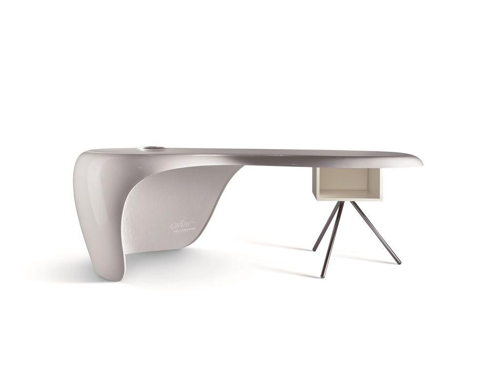 White Office Desk UNO