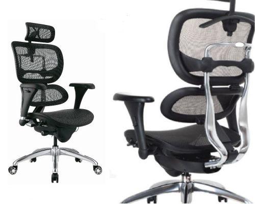 Židle ALS s Unikátní Automatickou Bederní Opěrkou