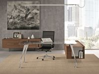 H200 Executive Office Glass Desk