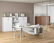 H201 Modern Executive Office Desk