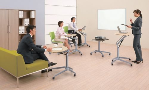 Výškově Nastavitelný Kancelářský Stůl OKAMURA Risefit