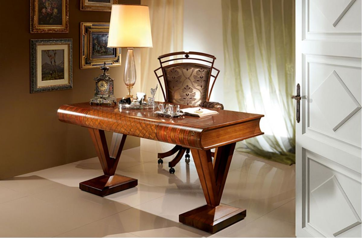 Picture of: Wooden Classic Style Office Furniture