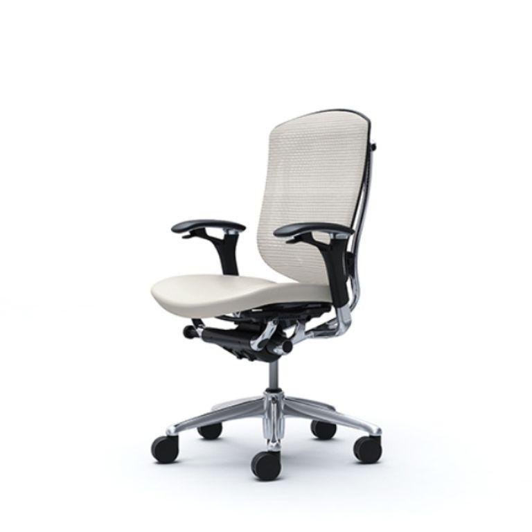CONTESSA SECONDA Chair WHITE Leather Seat