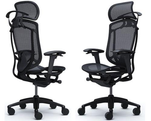 Эргономичные Офисные Кресла Okamura Contessa Seconda Black
