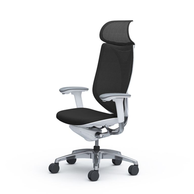 OKAMURA SABRINA SMART White Shell Chair
