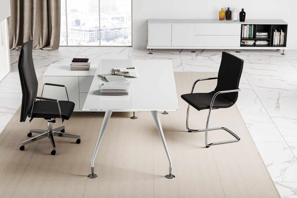 White Office Furniture B206