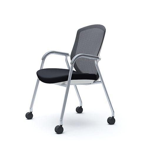 OKAMURA CONTESSA Meeting White Shell Chair