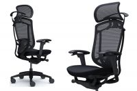 OKAMURA CONTESSA SECONDA Black frame Black сushion Chair