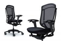 OKAMURA CONTESSA 2 Black Frame Black сushion Chair