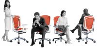 OKAMURA CONTESSA Seconda Chairs