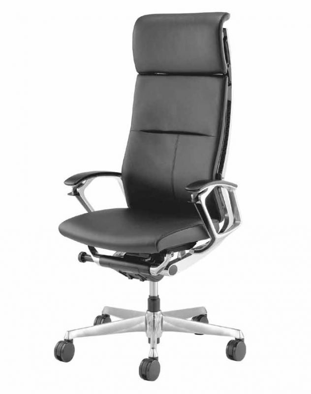 OKAMURA DUKE Leather Chair