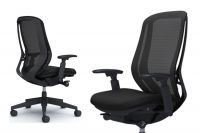 OKAMURA SYLPHY Black Base Chair BLACK