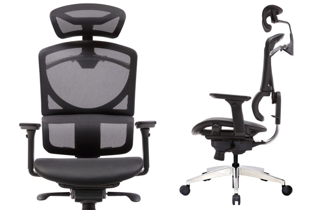 Picture of: Zero Black Mesh Office Chair