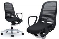 OKAMURA LUCE Black body Chair Black