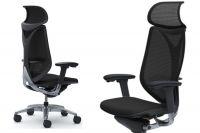 OKAMURA SABRINA SMART Chair Black Mesh