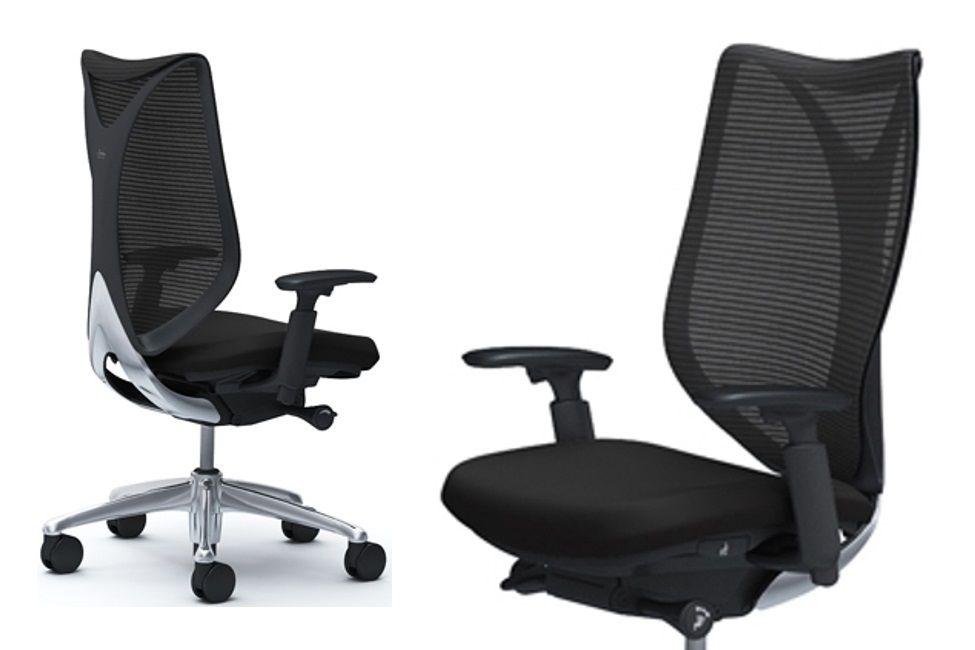 OKAMURA SABRINA STANDARD Chair Black mesh