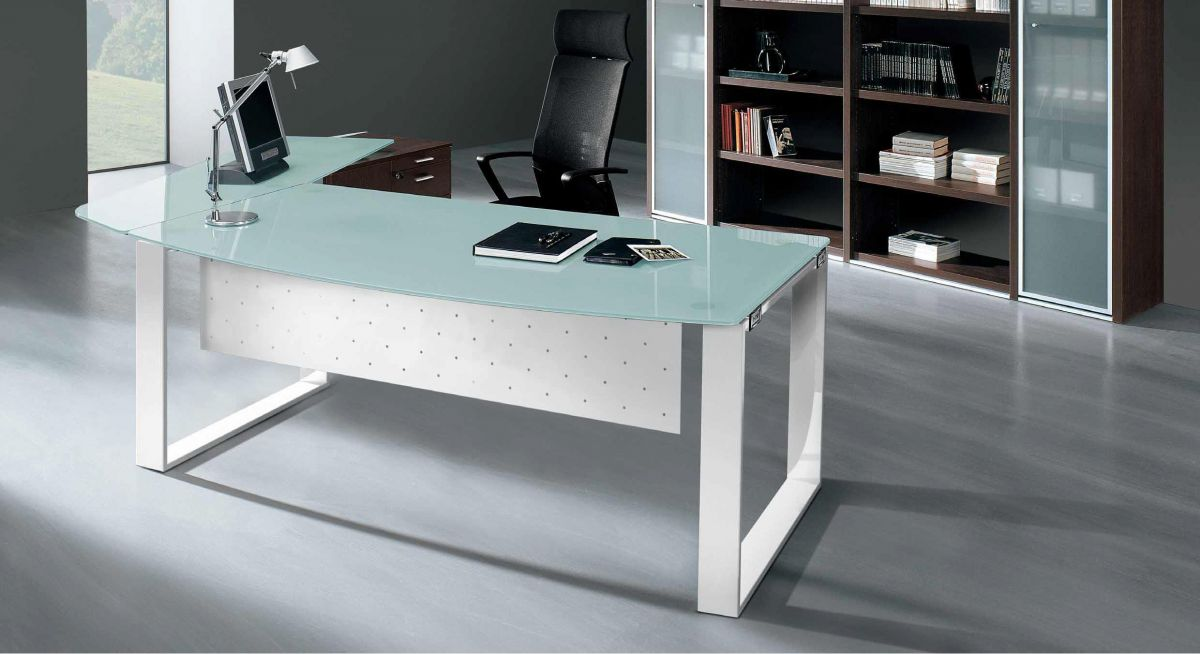 Hi-tech Furniture X-Time Work with RING legs