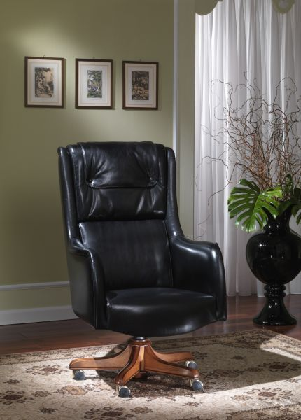 Italian Office Chair LeatherMONTECARLO