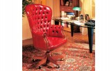 Italian Office Chair Leather