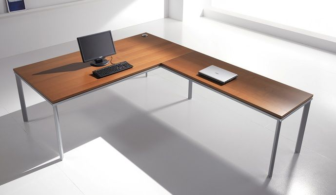 Desk with Side Extension BE EXECUTIVE