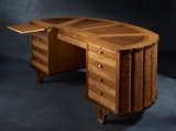 Desk ARTS 212x98x89 with leather