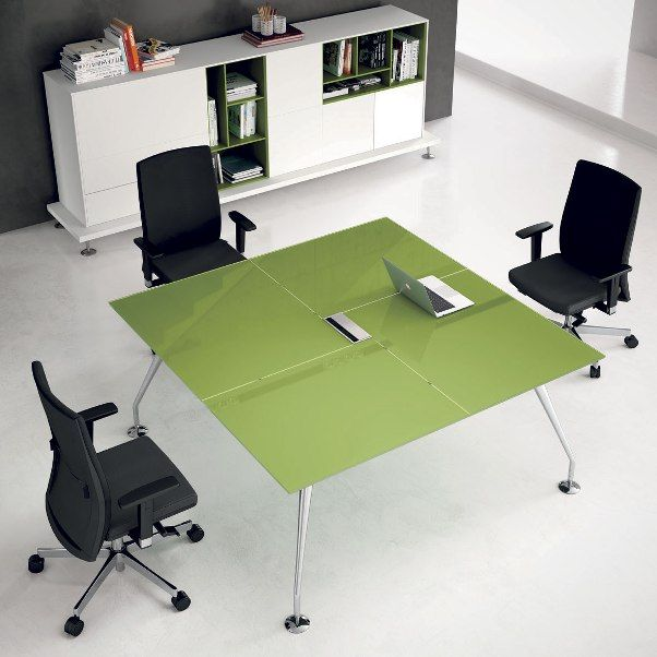 Glass Meeting Room Table MB207